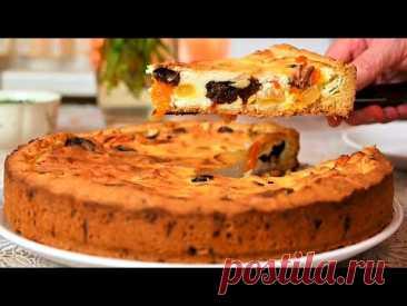 Этот пирог нравится всем! Мой любимый пирог с творогом! Быстрый Рецепт от Мамины рецепты