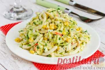 Салат из пекинской капусты - лучшие рецепты приготовления