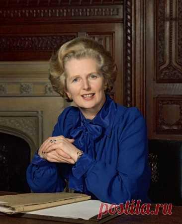 Маргарет Хильда Тэтчер, баронесса Тэтчер (Margaret Hilda Thatcher; 1925-2013) | National Portrait Gallery, London