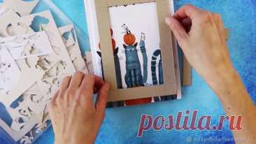 Идея применения 100 обрезков бумаги | Журнал Ярмарки Мастеров
