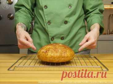 Ремесленный хлеб, который я пеку каждый день. Без замеса и хлебопечки всего за 5 минут (не считая выпечки)   Краше Всех