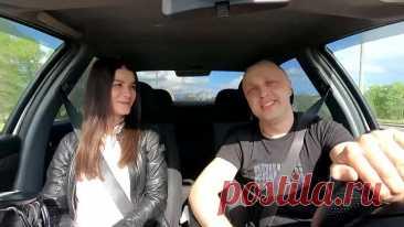 Таксист удивил девушку! Красивый голос!