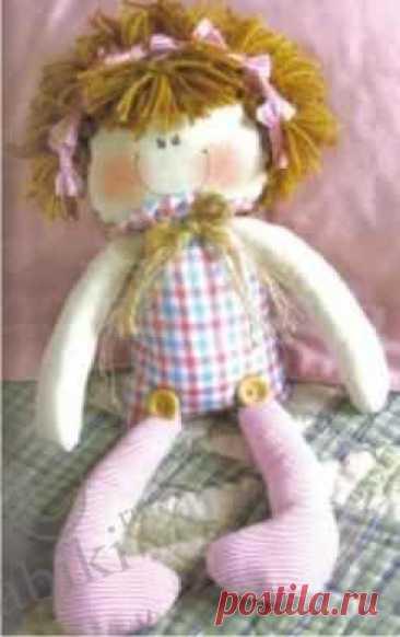 Выкройки. Несколько мягких текстильных кукол - шьем сами / Куклы из ткани / Бэйбики. Куклы фото. Одежда для кукол