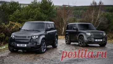 Новый Land Rover Defender V8 2022: фото, видео, характеристики