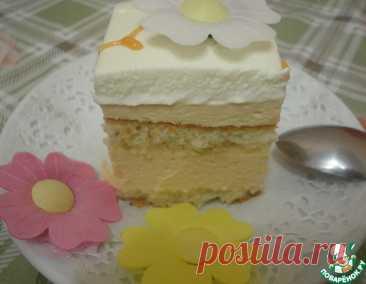 """Торт """"Крем-брюле"""" – кулинарный рецепт"""