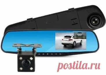 АКЦИЯ!!! Зеркало Видеорегистратор с камерой заднего вида 5 пин: 280 грн. - GPS-навигаторы / авторегистраторы Киев на Olx
