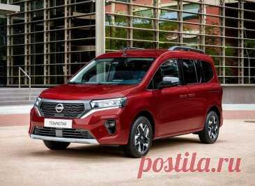 Новый Nissan Townstar VAN 2022, обзор, экстерьер, интерьер, характеристики и дата выпуска