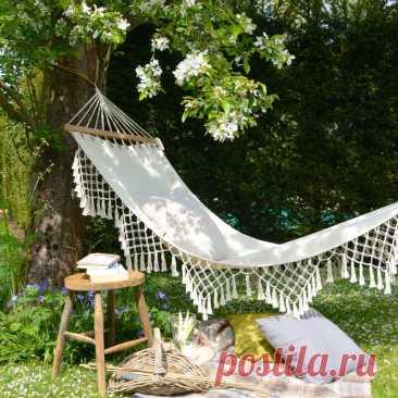 Как сделать зону отдыха у себя на даче? 13 классных идей, которые может повторить каждый   INMYROOM.RU   Яндекс Дзен