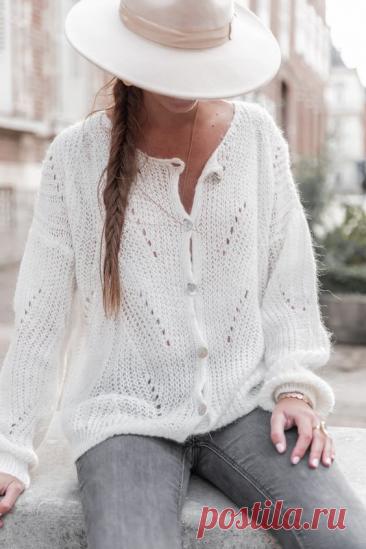 Шикарный пуловеры спицами! Жакет, пуловер и свитер. | Копилка узоров (Вязание спицами) | Яндекс Дзен
