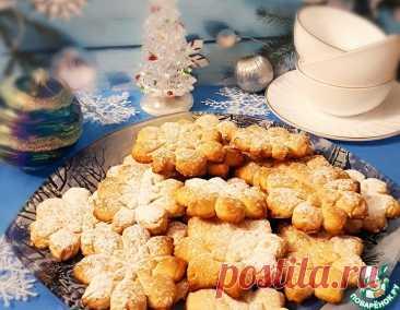 """Печенье """"Снежинки"""" – кулинарный рецепт"""
