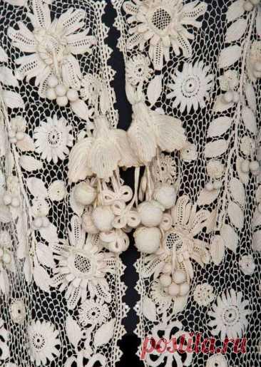 Это роскошное кружево сделает из вас королеву праздника: свободные формы вязания крючком восхитительны | СТИЛЬ МОДА ТРЕНДЫ | Яндекс Дзен
