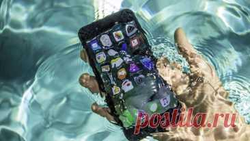 Как высушить телефон, упавший в воду - спасаем сенсорный телефон от воды