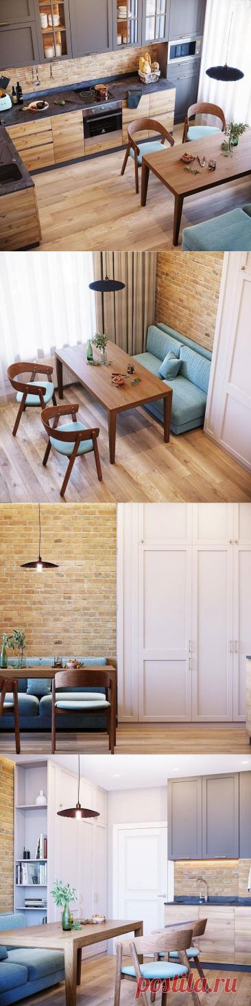 Шикарный проект одной из самых уютных кухонь из всех, что я видел. Дизайнер постарался и превозошёл все ожидания. | DESIGNER | Яндекс Дзен