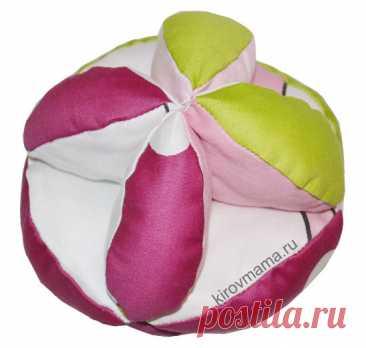 Развивающий мячик своими руками