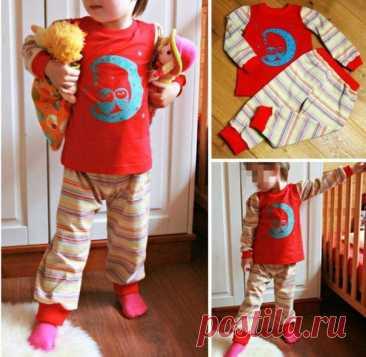 Скачать выкройку Пижама для деток (размеры 74-140) в PDF бесплатно Выкройка Пижама для деток (размеры 74-140) в ПДФ, скачайте пошаговую инструкцию бесплатно, сшить Пижама для деток (размеры 74-140) своими руками.