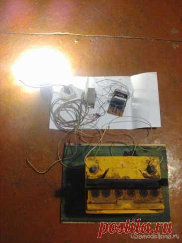 Преобразователь с 12 в 220В, 50 Гц, 75 Вт. На полевых транзисторах