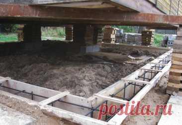 Ремонт фундамента дачного дома в Воронеже   Ремонт и реконструкция фундамента