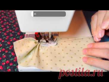🌟 Удивительные советы по шитью, которые нужно попробовать как можно скорее   Как собрать ткань