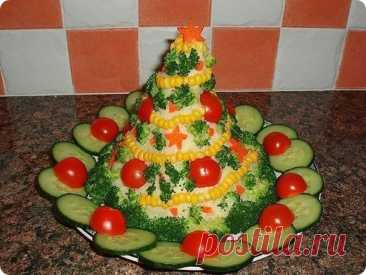 Топ-8 красивых и вкусных салатов к Новому 2022 году!