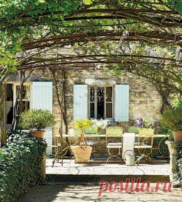 Очарование сельского шика в интерьере дома в Провансе | Интерьерно Озабоченная | Яндекс Дзен