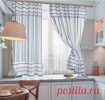 Дизайн штор для кухни: фото, новинки, сочетание, выбор цвета и стиля