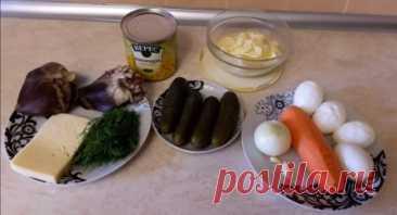 Las recetas originales de las ensaladas para el 8 de marzo. El menú de fiesta en el Día Internacional de la Mujer A pesar de que en la ensalada se usan los productos bastante nutritivos, él se refiere al número bajo en calorías. Para un gusto resulta no sólo sabroso, sino también tierno y сытным.1. Es primeramente necesario cocer yay …