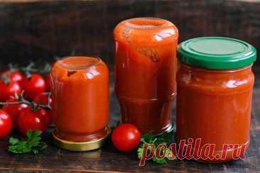 Кетчуп «Домашний» из помидоров и яблок на зиму Рецепт кетчупа «Домашний» из помидоров и яблок на зиму. Рецепт простой, быстрый и надежный, кетчуп всегда получается вкусным. Помидоры для кетчупа лучше использовать кисловатые, а … Читай дальше на сайте. Жми подробнее ➡