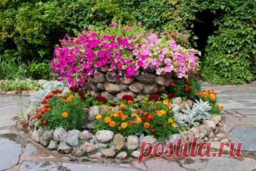 Клумба своими руками: 6 простых и красивых идей для дачи или сада, как сделать (фото) Мы расскажем, как сделать клумбу своими руками из подручных материалов! 6 простых и красивых идей для дачи или сада.
