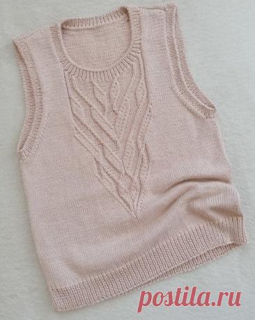 Вязание спицами - Топы спицами
