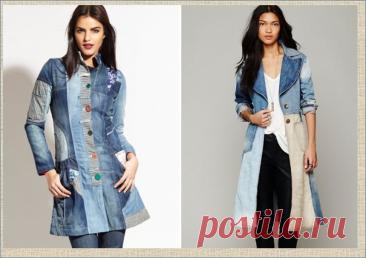 Новый взгляд на джинсовое пальто - подборка для вашей весны - 50 идей и примеров | МНЕ ИНТЕРЕСНО | Яндекс Дзен