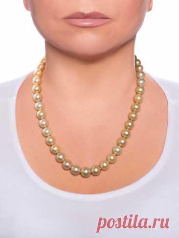 475.000 р-Колье из жемчуга Б3-5-1112 – купить в Москве, цена в интернет-магазине TRIADA Pearl