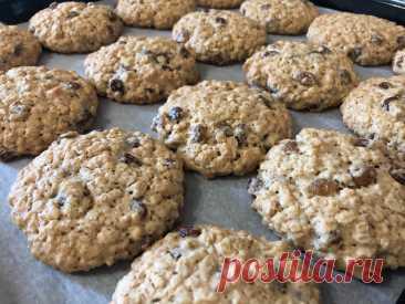 Овсяное печенье - самое вкусное и простое в приготовлении. Идеальный рецепт. | Скатерть-Самобранка | Яндекс Дзен