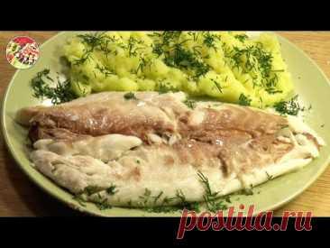 Рыба, запечённая в соли. Дорада, сибас или форель. Быстро, просто, очень вкусно!