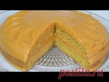 ЧУДО Торт на КАЖДЫЙ ДЕНЬ! ПОЧТИ БЕЗ КАЛОРИЙ ПОСТНЫЙ Торт К ЧАЮ! VEGAN CAKE