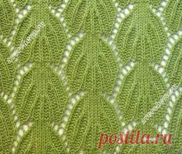 Красивый ажур спицами - Узоры вязания спицами