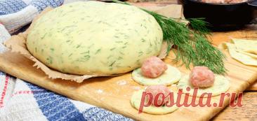 Вкусное блюдо к обеду: пельмени из теста с зеленью