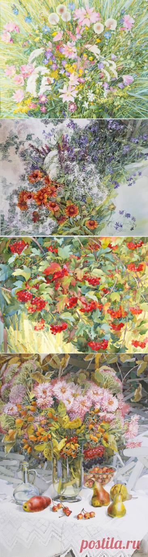 Удивительный цветочный мир Натальи Кохаль