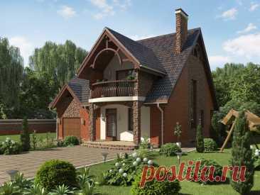 Проект дома «Билогорща» - Stone Wood House Проект дома «Билогорща» с современным дизайном и удобной планировкой. Данный проект разработан с полной документацией для строительства под ключ.