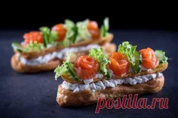 Эклеры закусочные - Любопытный повар — LiveJournal