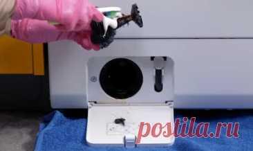 Жена сама «прокачала» стиральную машину. Теперь она работает тише и вещи не пахнут. Показываю ее 4 хитрости — SamantaWay