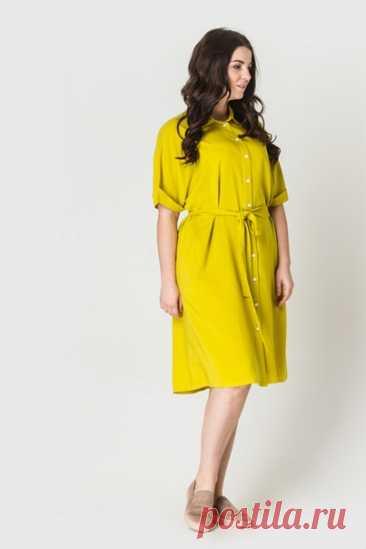 Платье рубашка Размеры 44-52, европейские