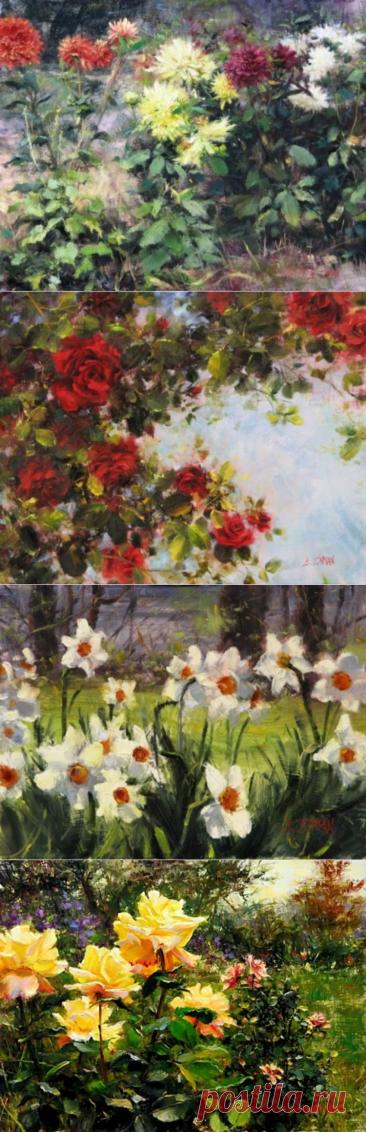 Цветы Bill Inman 2 часть