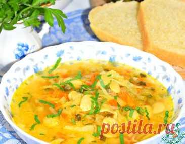 Фасолевый суп с квашеной капустой – кулинарный рецепт