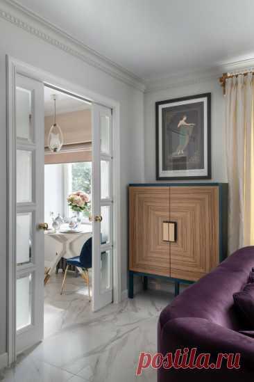Из старой «убитой» двушки 57 м² в современную светлую квартиру: фото до и после | El Design | Яндекс Дзен