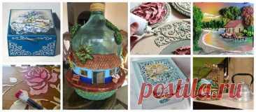 Узнайте, как делать красивые поделки из рельефной пасты домашнего приготовления ~ Красота и Прически