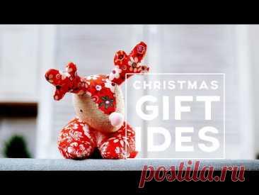 Рождественский лось своими руками┃Идея подарков┃Милая игрушка ┃Используйте маленькие кусочки ткани