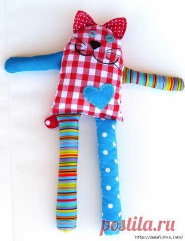 Начинающему кукольнику. Кот Берни. Выкройка