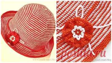 Как связать женскую шляпку крючком. Схема и мастер-класс от Галины