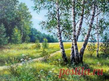 Пейзажи Елены Покушевой
