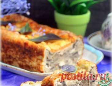 Пирог из лаваша «А-ля жюльен» – кулинарный рецепт